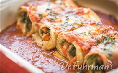 Monthly Recipe: Tasty Eggplant Roll Ups